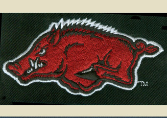 Red Boar logo Stitched